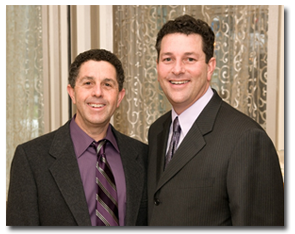 New Jersey dentists Scott Silver and Bruce Silver