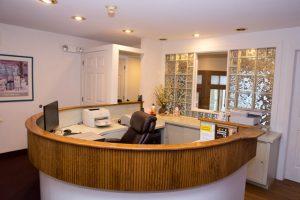 reception area Silver Dental